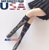 """1/6 Sexy Lace Socks Stockings For 12"""" TBLeague Phicen Female Figure USA SELLER"""