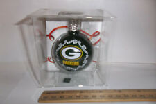 """New Green Bay Packers NFL Team Christmas Tree ORNAMENT 2 5/8"""""""