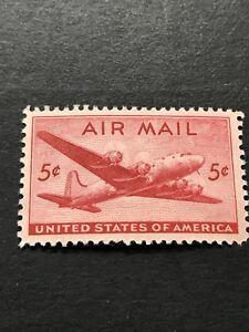 US Scott # C32  DC-4 Skymaster (1946)  5¢ MNH ****FREE SHIP****
