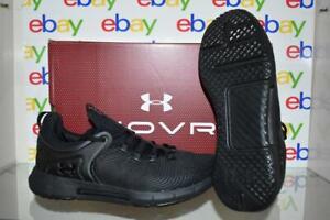 Under Armour Men's HOVR Rise 2 Training Shoes 3023009 002 Black NIB