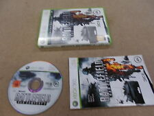 Xbox 360 Pal Game BATTLEFIELD:BAD COMPANY 2 with Box Instructions