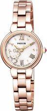NEW! CITIZEN wicca x Sanrio Hello Kitty Solar Power Wrist Watch KP2-167-11 66C