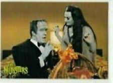 THE MUNSTERS DELUXE SERIES 2 BY DART FLIPCARD 1997  BASE /BASIC CARDS 001 TO 072