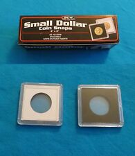 25 SUSAN B ANTHONY SMALL DOLLAR HOLDERS 2x2 COIN SNAPS NEW