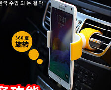Universal Swivel Car Steering-Wheel Bicycle Mount Holder For iphone Samsung GPS