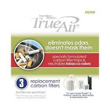 TrueAir Tobacco Odor Filters 04231Gw Includes (3) Filters