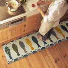 Cushion Anti-Fatigue non-slip Kitchen bedroom bath Floor Mat Rug Fish Carpet New