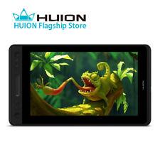 USED HUION KAMVAS PRO 12 Graphics Drawing Battery Free Pen Tablet Monitor Tilt