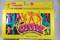 CUTIE Gym Dollies Vintage Figure Set In Original Box Mattel 1986 C.U.T.I.E.