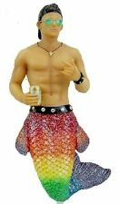 December Diamonds Rehoboth Rainbow Glitter Merman Christmas Ornament 5555002 Gay