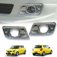 CHROME FOG LIGHT LAMP COVER SPOT LIGHT FIT FOR SUZUKI SWIFT 2004-2011