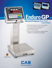 CAS Bench Scale Enduro 10 x 10, 5 lb, w/CI-2001AS Indicator Cost Effective