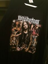 Mike Portnoy's Shattered Fortress/Sons Of Apollo Entire Icon Band Shirt Size XL