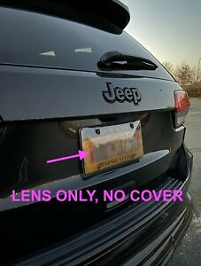 ONLY Lens for License Plate Cover against Red Light and Speeding Camera