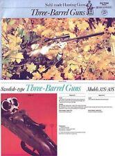 Merkel c1981-Suhl-Sauer-Simson 3 Barrel (German) Catalog