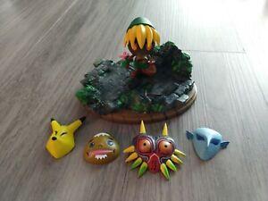 *RARE* 2000 Epoch Legend of Zelda Majora's Mask Deku Link with masks