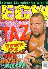 Original ECW Magazine signed by 23 incl Rob Van Dam , Sabu , Chris Candido (RIP)