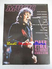Rivista MUSIC 138/1991 Paul McCartney Elvis Costello Living Theater Telsa NO cd