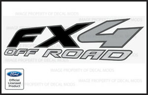2006 Ford F250 FX4 OffRoad Decals Stickers - FB Truck Super Duty Off Road Bed