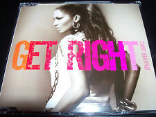 Jennifer Lopez Get Right Australian 5 Track CD Single – Like New