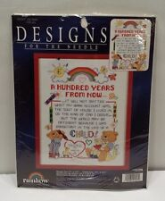 RAINBOW COUNTED CROSS STITCH A HUNDRED YEARS FROM NOW Leisure Arts Kit
