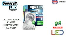 SUPACELL GU10 LED 5W DIMMABLE DAYLIGHT EQUIV HALOGEN 50W SPOTLIGHT DOWNLIGHT NEW