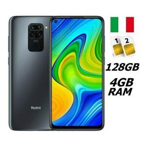 XIAOMI REDMI NOTE 9 DUAL SIM 128GB 4GB RAM BLACK GARANZIA ITALIA NO BRAND