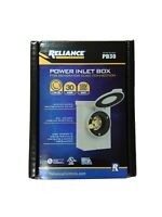 Reliance Controls Power Inlet Box 30 Amp Outdoor 4-Wire UL Generator Connector