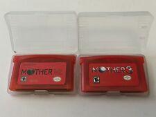 Mother 1 + 2 & 3 for Nintendo GBA Earthbound ENGLISH Translation +FREE US SHIP