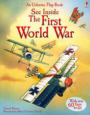 See Inside First World War (Usborne See Inside) by Rob Lloyd Jones Book The  CG2