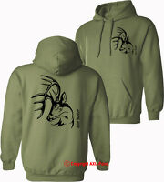 DEER HUNTER deer hunting deer stag shooting stalking HOODIES - S-XXL