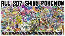 Any Pokemon Legendary/6IV/Shiny/Event for XY, ORAS Ultra Sun/Moon 3DS