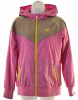NIKE Girls Overjacket 13-14 Years XL Purple Polyester  MK26