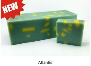 Handmade Soap *Atlantis* Homemade Soap *Valor Unity* WHOLE LOAF *9 Bars*
