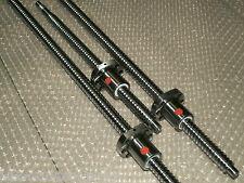 3 anti backlash 16mm ballscrew  RM1605-350/650/650mm-C7+end machine+ball nut CNC