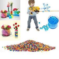 Lovely 10000Pcs/pack Water Bullet Balls Toys Soft Crystal Soil Beads Magic