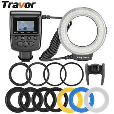 Travor #RF-550D Macro 48 LED Ring Flash Spedlight for Canon Nikon Pentax Olympus
