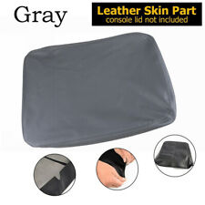 For Dodge Ram 1500/2500/3500 02-08 Leather Armrest Center Console Lid Cover Grey