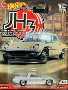 HOTWHEELS 2020 JAPAN HISTORICS MAZDA COMO SPORT ALLOYS RUBBER TYRES