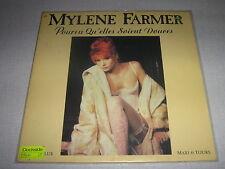 "MYLENE FARMER MAXI VINYL 12"" FRANCE PQSD"