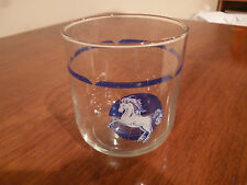 Tienshan Blue Fantasy Unicorn 8 Ounce Tumbler Glasses/Cups