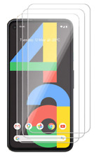 Google Pixel 4a HD Bubble-Free Screen Protector 9H Tempered Glass 3D Clear 3Pc