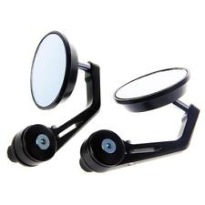 1pcs 7/8 inch Aluminum Motorcycle Bike Handle Bar End Rearview Side Mirror QQ