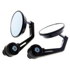 1pcs 7/8 inch Aluminum Motorcycle Bike Handle Bar End Rearview Side Mirror Q