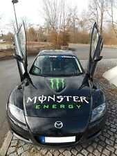Aufkleber für  Motorhaube- Motorsport - Styling - Tuning