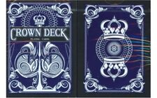 Crown Deck Blue V1 Playing Cards Poker Size USPCC Custom Limited Ed. New Sealed