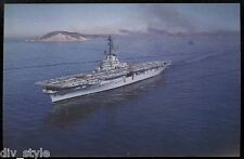 USS Valley Forge LPH-8  postcard US Navy amphibious assault ship (former CVA-45)