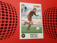 #99 Rudi Voller Roma Germany Panini Supersport football sticker 1988 blank back