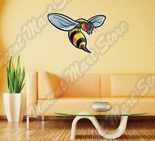 "Bee Wasp Hornet Insect Cartoon Kids Wall Sticker Room Interior Decor 25"" X22"""