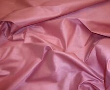 "shantung dupioni, faux silk fabric, 59"" wide, sold by the yard, Dusty rose color"